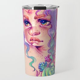 Succulent Unicorn Travel Mug
