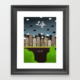 Uniform Motion - Life Framed Art Print