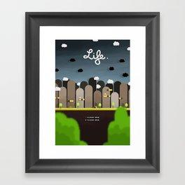 Uniform Motion - Life Framed Art Print