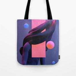 weary I Tote Bag