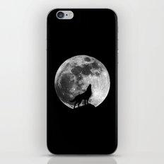Howling Wolf iPhone Skin
