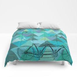Tour de'Triangle Comforters