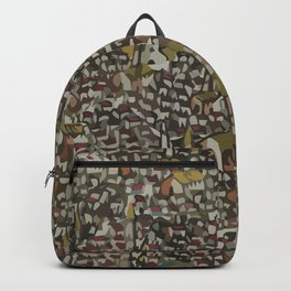 Map Collection: Medieval City Backpack