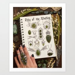 Lily of the Valley Collection Vol. II Art Print