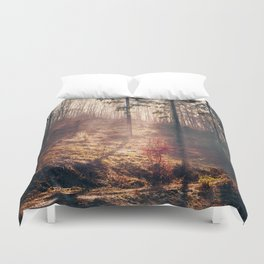 Little Red Tree Duvet Cover