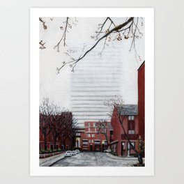 Henry Lane Terrace Art Print