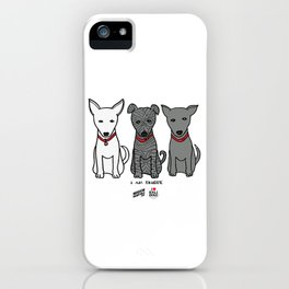 3 Musketeers, I Love Bali Dogs iPhone Case