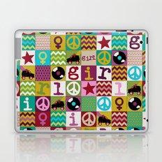 patch girl Laptop & iPad Skin