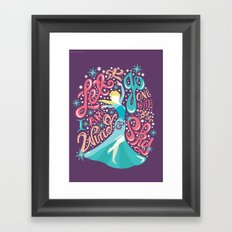 Snow Queen Framed Art Print