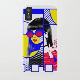 pop art (collab) iPhone Case