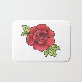 The rose Bath Mat