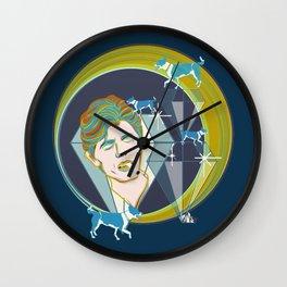 DIAMOND DOGS Wall Clock