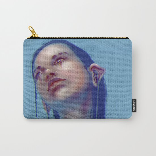 Sci-fi Music listening Carry-All Pouch