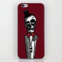 gentleman iPhone & iPod Skins featuring Gentleman by Skullmuffins