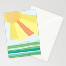 Wave after wave Stationery Cards
