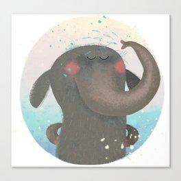 An elephant. Canvas Print
