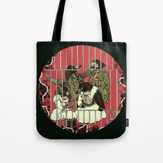 Crow Serie :: At The Balcony (after Goya) Tote Bag