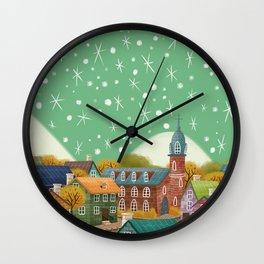 European Town Wall Clock