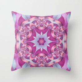Melody Mandala Throw Pillow