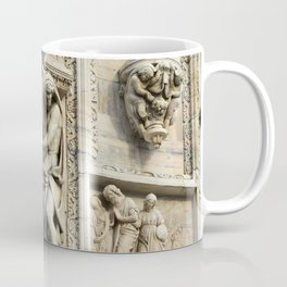 Milan Duomo Cathedral Sculpture Sudy, Italy Coffee Mug