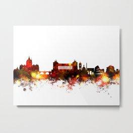 Rome Italy Skyline Metal Print