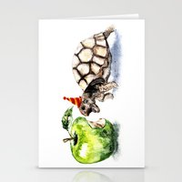 turtle Stationery Cards featuring Turtle by Anna Shell