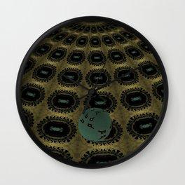 Unfitting Frame Orbitals 10 Wall Clock