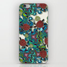 turtle reef iPhone Skin