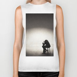 Thoughts of the past Biker Tank