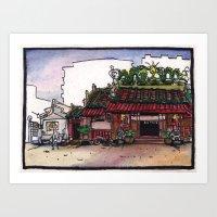 Bangkok : San Jao Sien Khong Shrine Art Print