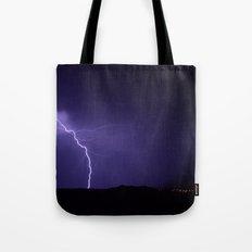Lightning Strikes - II Tote Bag