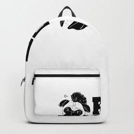 Cute & Funny Pugs Rock Pug Owners Backpack