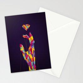 Diamond Hand Stationery Cards