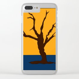 A Scorched Tree Skeleton of Deadvlei Clear iPhone Case