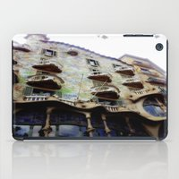barcelona iPad Cases featuring Barcelona by Bryony Ogilvie