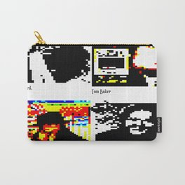 Dr Who. TELETEXT ART. CEEFAX TRIBUTE. TV PAGES. Carry-All Pouch