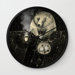 late tea Wall Clock