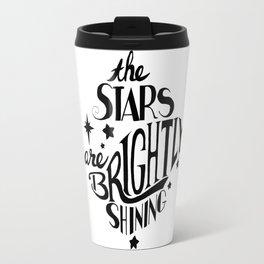 The Stars are Brightly Shining Travel Mug