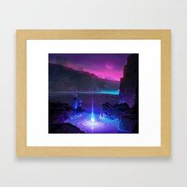 PHAZED PixelArt 8 Framed Art Print