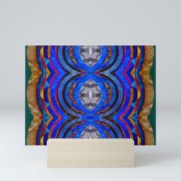 Visionary Tribal Geometric Magic Mini Art Print