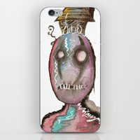 stitch iPhone & iPod Skins featuring Stitch by Dead Rabbit