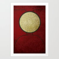 ironman Art Prints featuring Ironman by Fries Frame