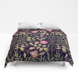 William Morris Sweet Briar Floral Art Nouveau Comforters