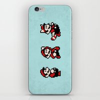 mario bros iPhone & iPod Skins featuring Super Mario Bros 3 by Brandon Riesgo