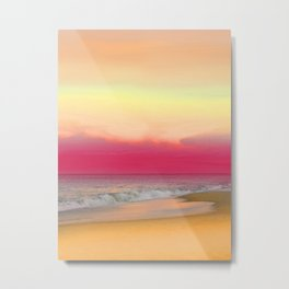 Ocean Reflections 6 Metal Print