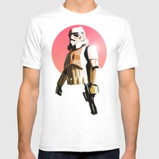 Stormtrooper White Mens Fitted Tee LARGE
