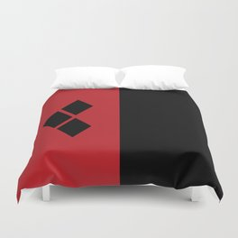 Two Sides of Harley Quinn Duvet Cover