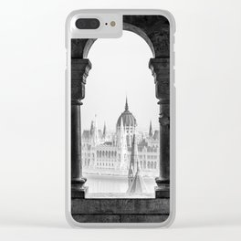 Looking Through. Clear iPhone Case