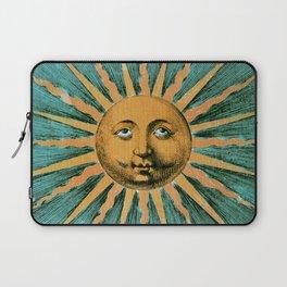 Vintage Sun Print Laptop Sleeve
