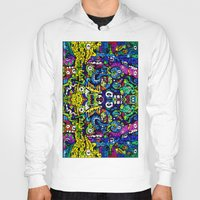 starry night Hoodies featuring #STARRY #NIGHT by JOHNF